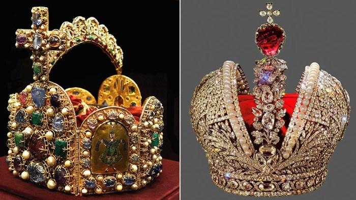 Блеск и великолепие императорских корон.